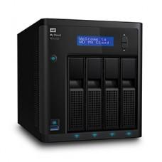 NAS WD MY CLOUD PR4100 32TB/CON 4 DISCOS DE 8TB/4BAHIAS/INTEL PENTIUM N3710 1.6GHZ/4GB/2ETHERNET/3USB3.0/RAID 0-1-5-10