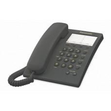 TELÉFONO PANASONIC KX-TS550 ALÁMB. BÁSICO UNILÍNEA,13 MEMORIAS,NEGRO