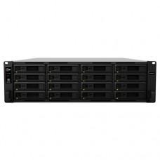 Synology RackStation RS2818RP+ servidor de almacenamiento Ethernet Bastidor (3U) Negro NAS