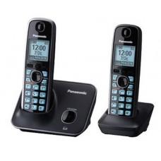 Panasonic KX-TG4112 - Teléfono inalámbrico con ID de llamadas - DECT 6.0 Plus + auricular adicional
