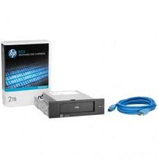 Hewlett Packard Enterprise RDX 2TB USB3.0 Internal Disk Backup System unidad de cinta Interno 2000 GB