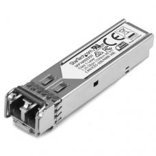 StarTech.com Módulo Transceptor SFP de Fibra LC Monomodo 1000Base-ZX MSA de 1000Mbps DDM DOM - Hasta 80km - Módulo de transceptor SFP (mini-GBIC) - GigE - 1000Base-ZX - modo simple LC - hasta 80 km - 1550 nm