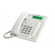Teléfono Híbrido PANASONIC - Escritorio, Color blanco, Si, No, LCD