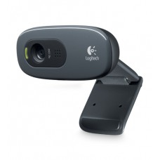 Logitech HD Webcam C270 - Cámara web - color - 1280 x 720 - audio - USB 2.0
