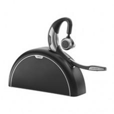 Jabra Motion UC auriculares para móvil Monoaural gancho de oreja Negro, Plata