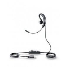 Jabra UC Voice 250 MS Monoaural gancho de oreja, Dentro de oído Negro