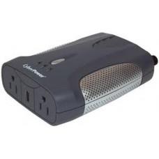 Inversor Porttil de 400 Watts, 12 Vcd de Entrada y 120 Vac de Salida, Con 2 Contactos NEMA 5-15R y 1 puerto USB de Carga