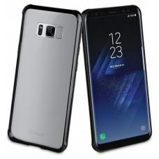 MUVIT MUCRB0020 - Bumper - Durable plastic - Black - para Samsung Galaxy S8