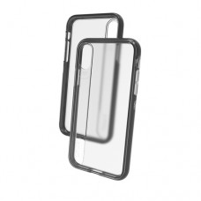 Gear4 Windsor - Carcasa trasera para teléfono móvil - policarbonato, D3O, poliuretano termoplástico (TPU) - negro - para Apple iPhone X