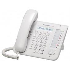 Panasonic KX-NT551X teléfono IP Blanco Terminal con conexión por cable LCD
