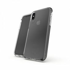 Gear4 D3O Crystal Palace - Carcasa trasera para teléfono móvil - policarbonato, D3O, poliuretano termoplástico (TPU) - transparente - para Apple iPhone X, Xs