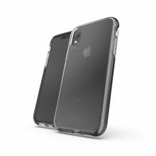 Gear4 Picadilly - Carcasa trasera para teléfono móvil - policarbonato, D3O, poliuretano termoplástico (TPU) - negro - para Apple iPhone XR