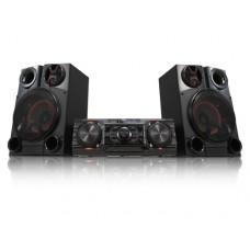LG CM8350 sistema de audio para el hogar Minicadena de música para uso doméstico Negro 2000 W