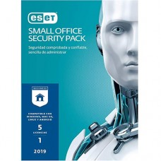 ESET Small Office Security Pack 2019 Base license 5 licencia(s) 1 año(s) Español