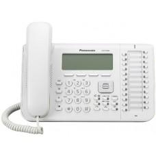 Panasonic KX-DT546X teléfono Teléfono analógico Blanco Identificador de llamadas