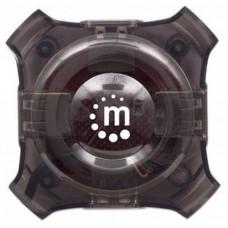 Manhattan 162272 nodo concentrador 12 Mbit/s Negro, Transparente