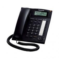 Panasonic KX-T7716X-B teléfono Teléfono analógico Negro Identificador de llamadas