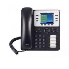 Teléfono IP Empresarial de 3 Líneas con 4 teclas de función, 8 teclas de extensión BLF y conferencia de 4 vías. PoE