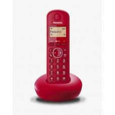 Panasonic KX-TGB210JTR teléfono Teléfono DECT Rojo Identificador de llamadas