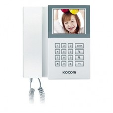 Kocom KAM-D340 sistema de intercomunicación de video Blanco