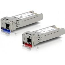 Ubiquiti U Fiber Single-Mode - Módulo de transceptor SFP (mini-GBIC) - 10 GigE - 10GBASE-BiDi (paquete de 2)