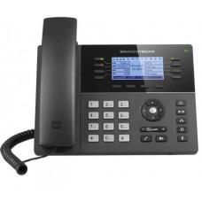 Teléfono IP Gama media de 8 Líneas con 4 teclas de función, 32 teclas de extensión BLF digital y conferencia de 5 vías PoE Gigabit