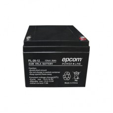 Epcom PL-26-12 batería para sistema ups Sealed Lead Acid (VRLA) 12 V