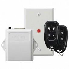 Receptor Universal con conexion directa al Keybus del panel de alarma con relevador auxiliar para abrir puertas de garage o aplicaciones de pulso momentaneo
