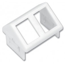 Siemon CTE-MXA-02-02 placa de pared y cubierta de interruptor Blanco