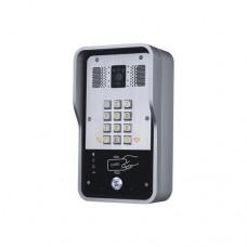 Video Portero SIP Con Cmara, 1 Relevador Integrado, Onvif y lector de tarjetas RFID (MIFARE) para acceso