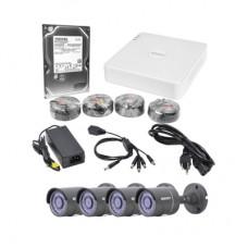 Epcom LB7TURBOKIT4P/1TB kit de videovigilancia Alámbrico 4 canales