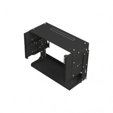 LinkedPRO LP-REP-1205-CH estante 36 kg Bastidor de pared 5U Negro