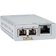 Convertidor de medios gigabit ethernet a fibra óptica, conector SC, multimodo (MMF), distancia de 220 hasta 500 m