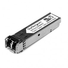 StarTech.com Módulo SFP Compatible con Cisco GLC-SX-MM - Transceptor de Fibra Óptica 1000BASE-SX - SFPGLCSXMMST - Módulo de transceptor SFP (mini-GBIC) - GigE - 1000Base-SX - LC de modos múltiples - hasta 550 m - 850 nm - para P/N: ET91000SFP2, ET91000SFP