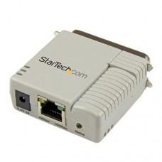 StarTech.com Servidor de Impresión Paralelo de 1 Puerto Ethernet de Red 10/100 Mbps - Servidor de impresión - paralelo - 10/100 Ethernet - beige - para P/N: SVA5H2NEUA