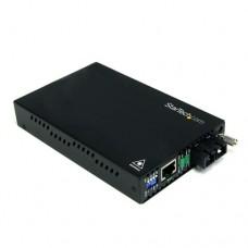 StarTech.com Conversor de Medios Ethernet 10/100 Mbps  a Fibra Multi Modo Conector SC -2km - Conversor de soportes de fibra - 100Mb LAN - 100Base-FX - RJ-45 / modo múltiple SC - hasta 2 km - 1310 nm - para P/N: ETCHS2U, SVA12M2NEUA, SVA12M5NA