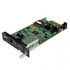 StarTech.com Módulo Conversor de Medios Gigabit Ethernet UTP RJ45 a Fibra con una Ranura SFP Disponible para ETCHS2U - Conversor de soportes de fibra - GigE - 1000Base-TX - RJ-45 / SFP (mini-GBIC) - para P/N: ET10GSFP, GLCSXMMRGDST, J4858C10PKST, J4858CST