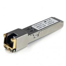 StarTech.com Módulo SFP Compatible con Cisco SFP-GE-T - Transceptor de Cobre RJ45 1000BASE-T - SFPC1110 - Módulo de transceptor SFP (mini-GBIC) - GigE - 1000Base-TX - RJ-45 - hasta 100 m - para P/N: MCM1110SFP