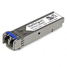 StarTech.com Módulo SFP Compatible con Cisco GLC-LH-SM - Transceptor de Fibra Óptica 1000BASE-LX/LH - SFPGLCLHSMST - Módulo de transceptor SFP (mini-GBIC) - GigE - 1000Base-LH - modo simple LC - hasta 10 km - 1310 nm - para P/N: ET91000SFP2, ET91000SFP2C,