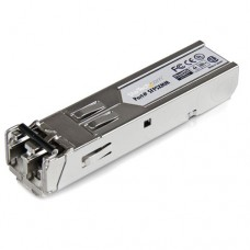 StarTech.com Transceptor de Fibra Óptica Multi Modo SFP Gigabit 850nm Conector LC - 550m - Módulo de transceptor SFP (mini-GBIC) - GigE - 1000Base-SX - LC de modos múltiples - hasta 550 m - 850 nm - para P/N: MCM1110SFP
