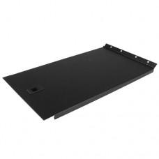 StarTech.com Panel Ciego Sólido 6U con Bisagra Panel de Relleno para Rack - Panel de blanqueado de rack - negro - 6U - 19