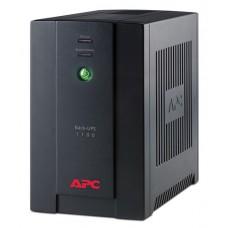 APC Back-UPS 1100 - UPS - CA 120 V - 660 vatios - 1100 VA - USB - conectores de salida: 6 - América Latina - negro