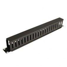 Administrador de Cable TRIPP-LITE - Negro, 1U, 9, 91 cm, 4, 5 cm, 590 g
