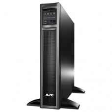APC Smart-UPS X 1000VA Rack/Tower LCD - UPS (montaje en rack / externo) - CA 120 V - 800 vatios - 1000 VA - USB - conectores de salida: 8 - 2U - negro - para P/N: AR4018SPX432, AR4024SP, AR4024SPX429, AR4024SPX431, AR4024SPX432, NBWL0356A