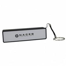 Naceb Technology NA-606 batería externa Negro, Plata 2200 mAh