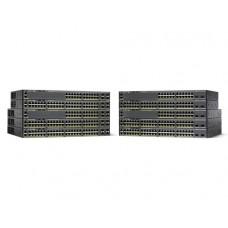 Cisco Catalyst WS-C2960X-48TS-LL switch Gestionado L2/L3 Gigabit Ethernet (10/100/1000) Negro