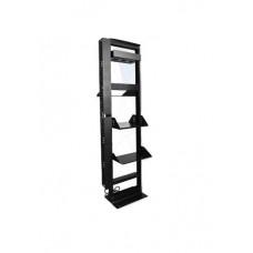 Rack de Aluminio de 43UR 7X 19 LACES LAR7L - Negro