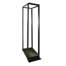 Cuadra Rack LACES LA100RQ4 - Negro, Aluminio, 24U