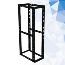 Cuadra Rack LACES LA100RQ7 - Negro, Aluminio, 400 kg, 43U