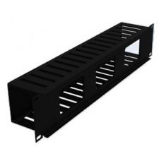 Organizador Horizontal LACES LAOHRS - Acero, Negro, 48, 3 cm, Acero